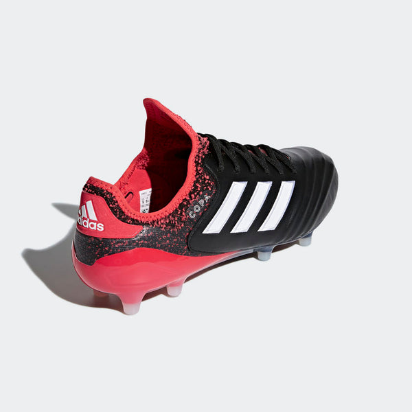 Adidas Copa 18.1 FG - Core Black/ Running White/ Real Coral