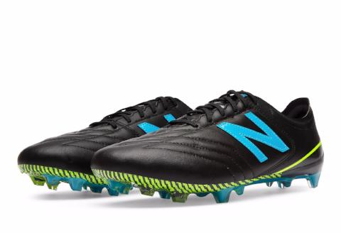 New Balance Furon 3.0 K-Leather FG - Black