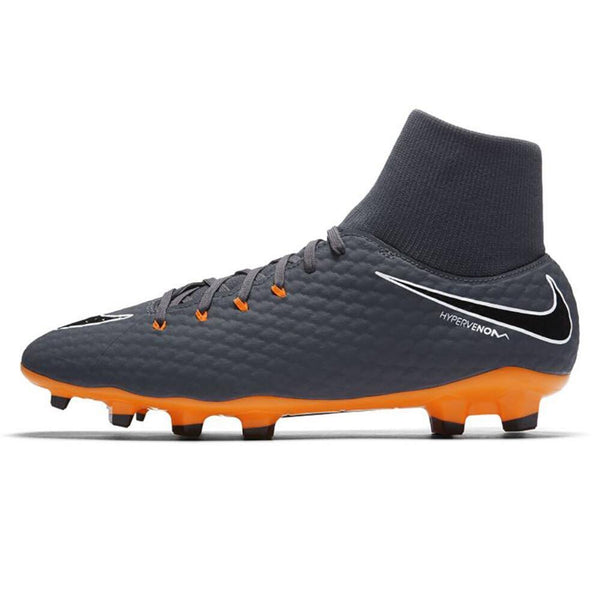 Nike Phantom 3 Academy DF FG - Dark Grey/ Total Orange/ White