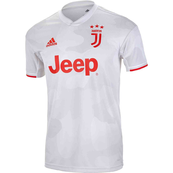 Adidas Juventus Away Youth Jersey 2019/20 - Core White/ Raw White