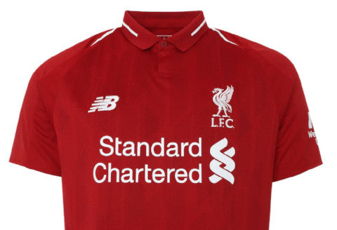 New Balance Liverpool Home Youth Jersey - 2018/19