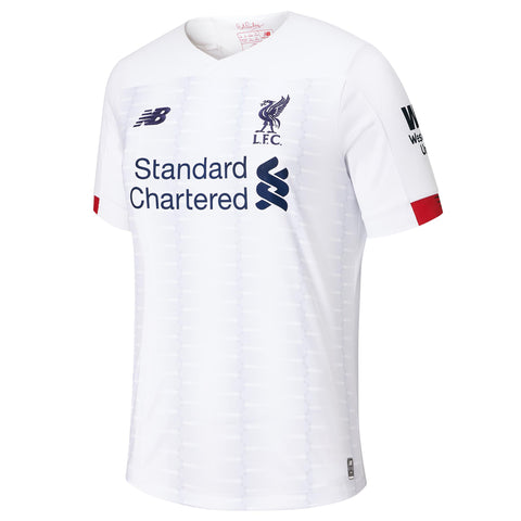 New Balance Liverpool Away Youth Jersey 2019/20 - White/ Navy/ Team Red