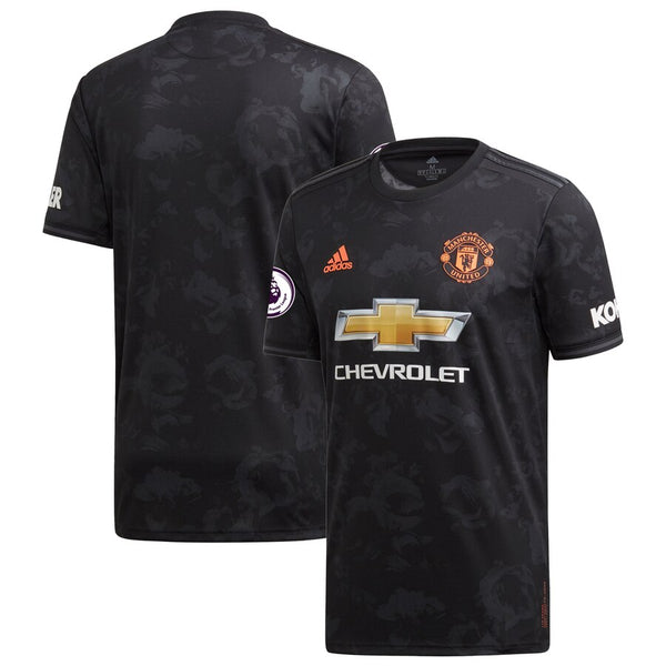 Adidas Manchester United Third Jersey 2019/20 - Black