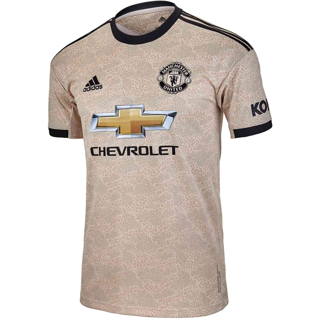 Adidas Manchester United Away Jersey 2019/20 - Gold