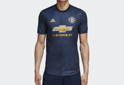 Manchester United 3rd Kit 2018/19 - Collegiate Navy/ Night Navy/ Matte Gold