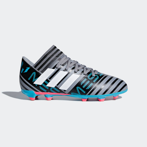 Adidas Nemeziz Messi 17.3 FG J - Grey/White/Black