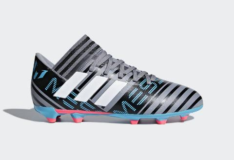 Adidas Nemeziz Messi 17.3 FG J - Grey/ Running White/ Core Black