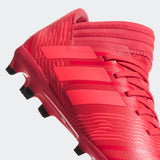 Adidas Nemeziz 17.3 FG J - Real Coral/ Red Zest/ Core Black
