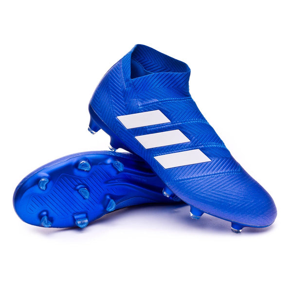 Adidas Nemeziz 18+ FG - Football Blue/ Cloud White