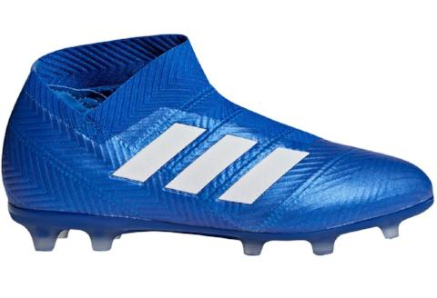 Adidas Nemeziz 18+ FG J - Football Blue/ Cloud White