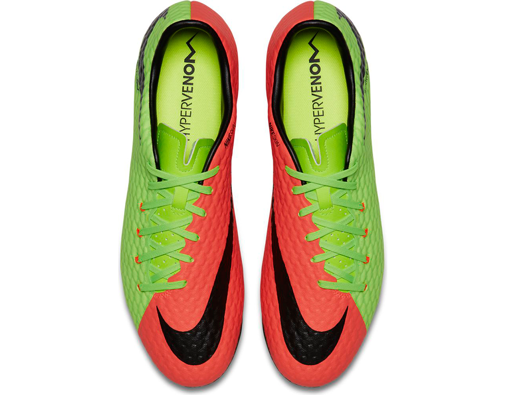 ee5e3e434 Nike Hypervenom Phelon III FG - Green/ Orange/ Black | East Coast ...