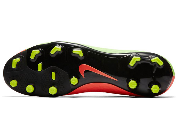 nike hypervenom phelon 3 green orange studs