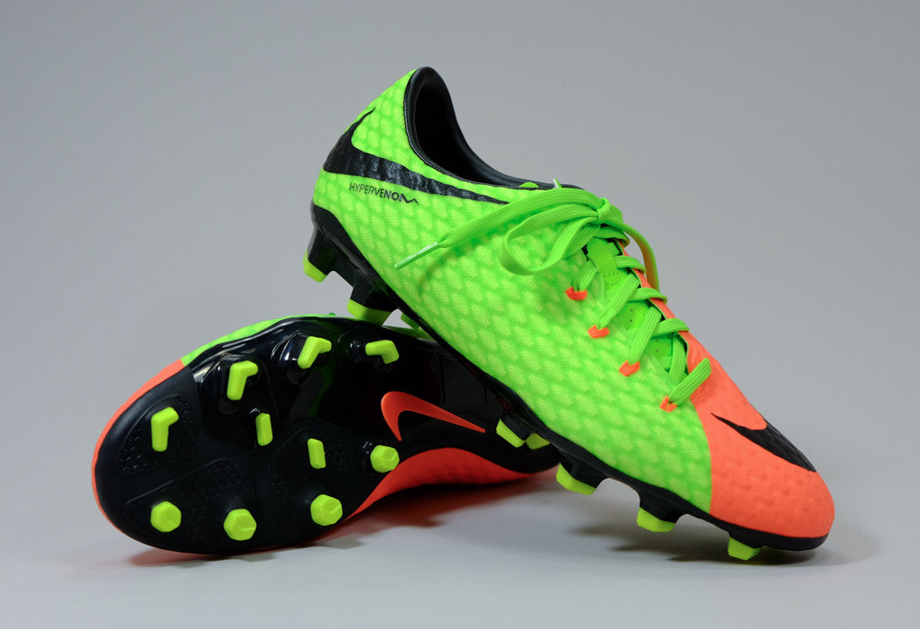 fb6a0cb40 Nike Hypervenom Phelon III FG - Green/ Orange/ Black | East Coast Soccer  Shop