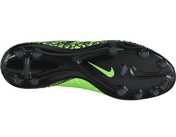 nike hypervenom phinish fg green strike black studs