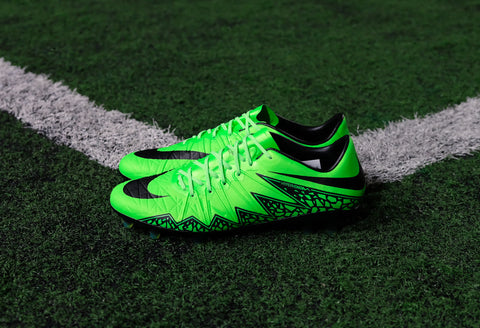 nike hypervenom phinish fg green strike black