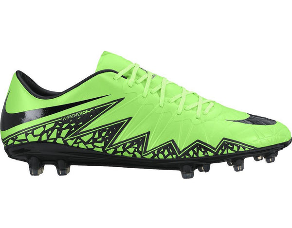 nike hypervenom phinish fg green strike black side