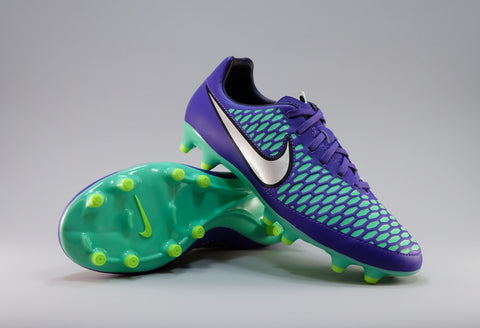 nike magista onda purple green silver