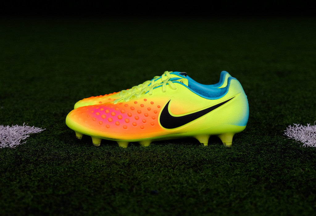 721a010ddb0f6 Nike Magista Opus II FG - Volt  Total Orange  Jade