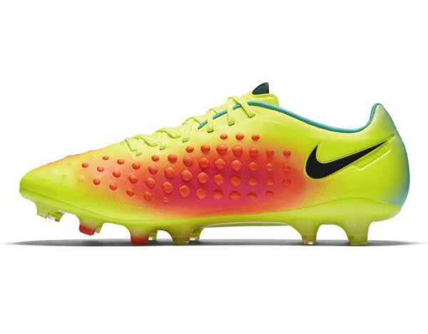 nike magista opus 2 fg volt orange pink jade