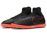 nike magistax proximo ii tf black hyper orange