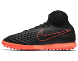 nike magistax proximo ii tf black hyper orange side