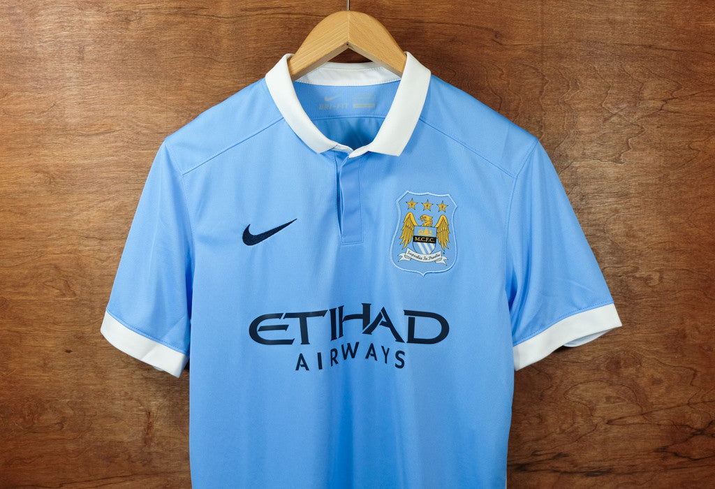 finest selection f243d 69399 Nike Manchester City Home Jersey - 2015/16