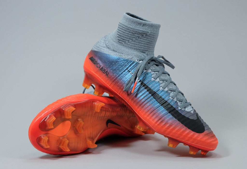 987d34997 Nike Mercurial Superfly V CR7 FG - Cool Grey  Crimson