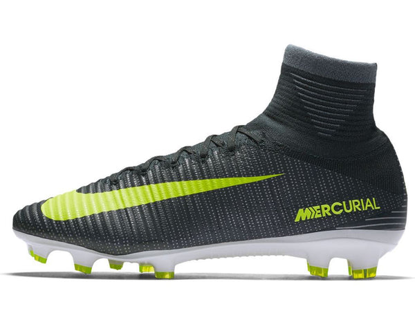 nike mercurial superfly v cr7 fg seaweed volt side