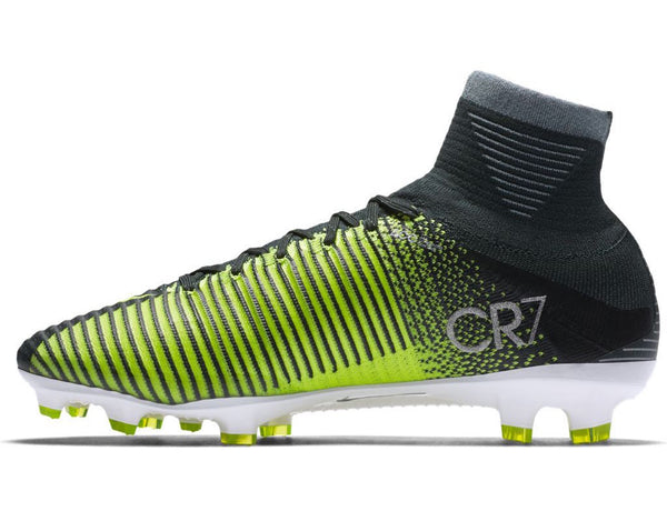 nike mercurial superfly v cr7 fg seaweed volt instep