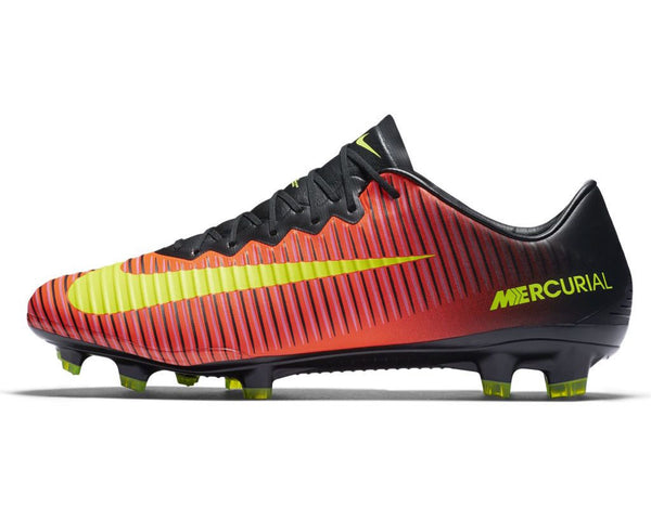nike mercurial vapor xi fg total crimson volt black pink blast side