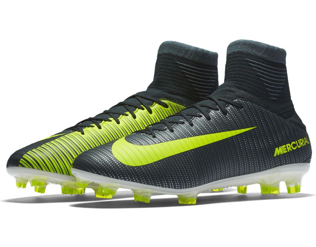 first rate 03a79 32d91 ... nike mercurial veloce iii df cr7 fg seaweed volt ...