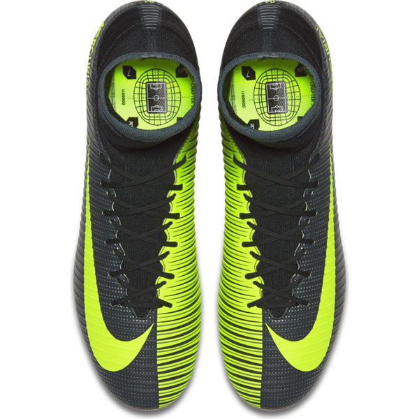 nike mercurial veloce iii df cr7 fg seaweed volt laces