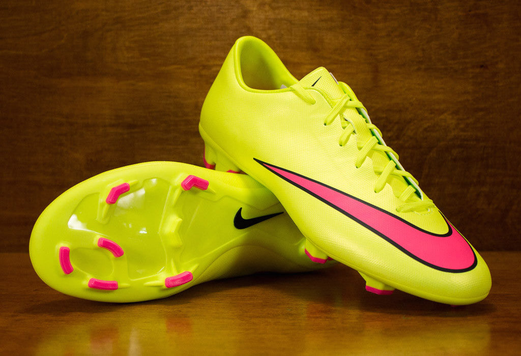 nike mercurial victory volt pink