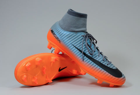 nike mercurial victory 6 cr7 df silver orange