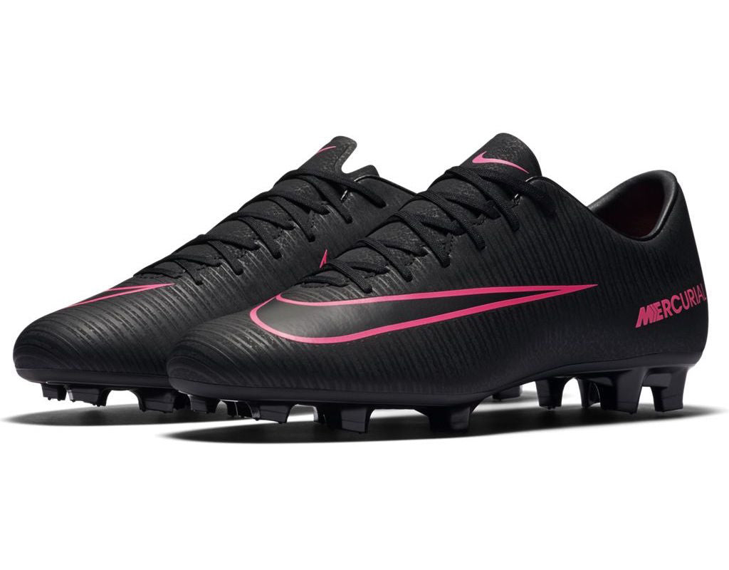 official photos 1eb97 ee13b ... nike mercurial victory 6 fg black pink ...