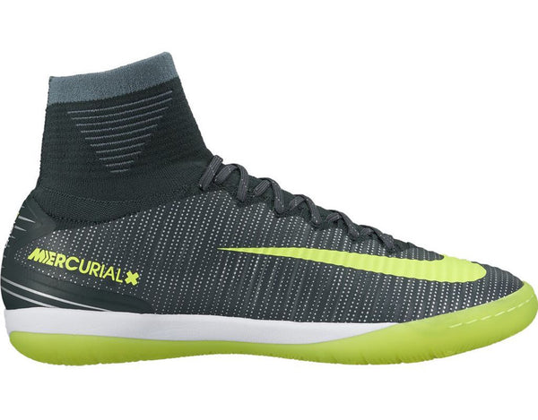 nike mercurialx proximo ii cr7 ic seaweed volt side