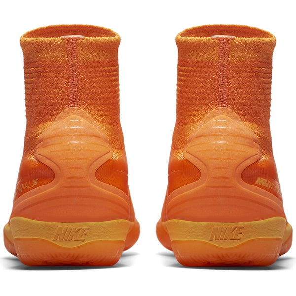 nike mercurialx proximo ii ic total orange heel