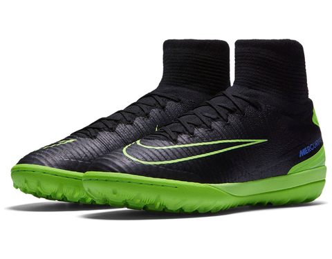 nike mercurialx proximo ii tf black electric green