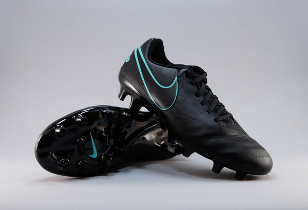 nike tiempo genio leather 2 black jade