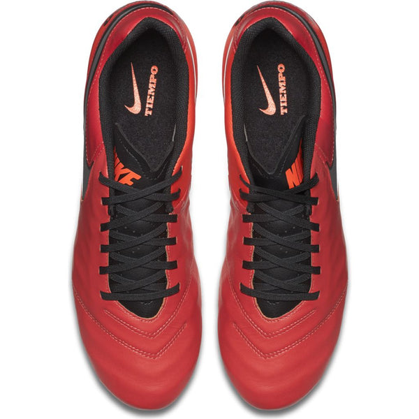 nike tiempo genio leather 2 crimson silver top
