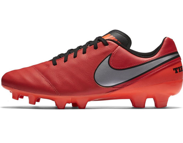 nike tiempo genio leather 2 crimson silver side