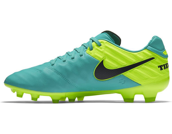 nike tiempo legacy 2 fg clear jade volt instep