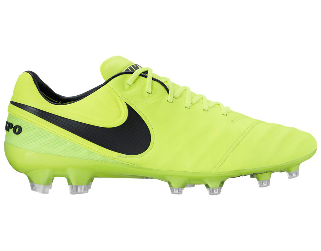 buy popular 5b671 73c13 Nike Tiempo Legend VI FG - Volt/ Black