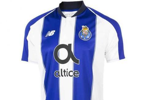 New Balance Porto Home Youth Jersey - 2018/19