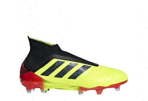 Adidas Predator 18+ FG - Solar Yellow/ Core Black/ Solar Red