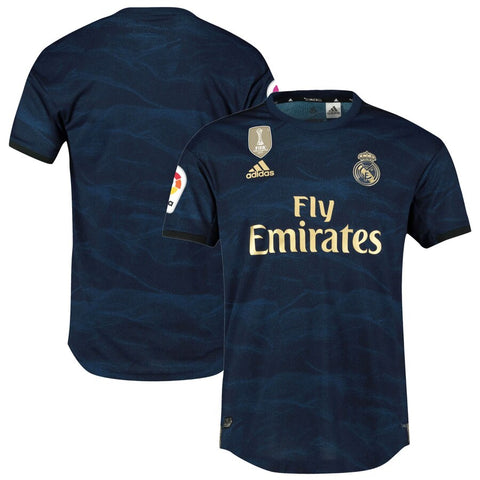 Adidas Real Madrid Away Jersey 2019/20 - Night Indigo/ Gold