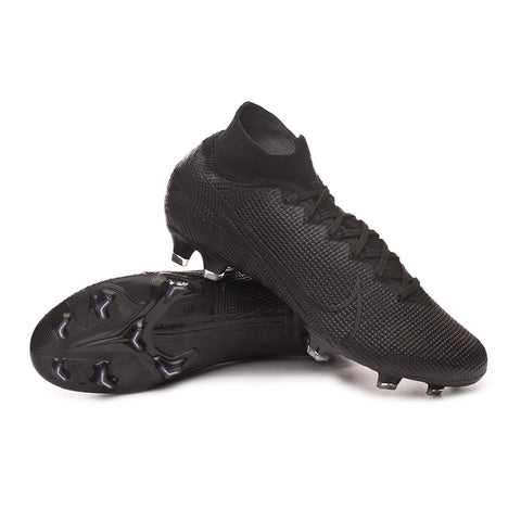 Nike Mercurial Superfly 7 Elite FG - Black/ Black/ Dark Grey