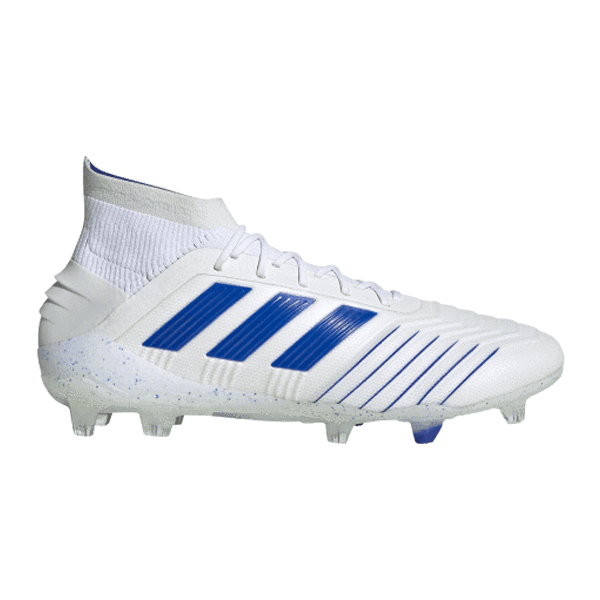 Adidas Predator 19.1 FG - Cloud White/ Bold Blue
