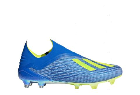 Adidas X 18+ FG - Football Blue/ Solar Yellow/ Core Black