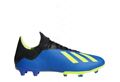 Adidas X 18.3 FG - Football Blue/ Solar Yellow/ Core Black